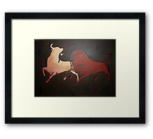 Bullfight 2 Framed Print
