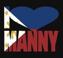I Love Manny Pacquiao Pinoy Pride by EthosWear