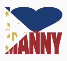 I Love Manny Pacquiao Pinoy Pride Kids Clothes