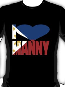 I Love Manny Pacquiao Pinoy Pride T-Shirt