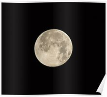 Supermoon on August 10 2014 Poster
