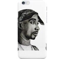 Tupac drawing iPhone Case/Skin