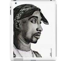 Tupac drawing iPad Case/Skin