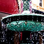 Cascading fountain by indiafrank