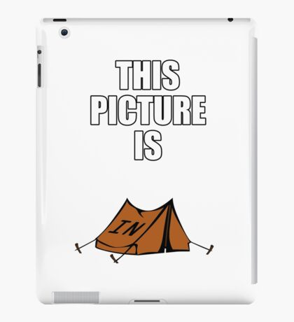 An Intense Picture iPad Case/Skin