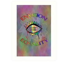 Envision Equality Art Print
