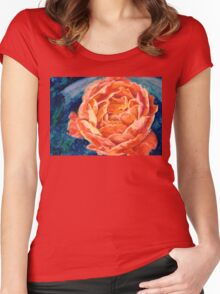 Passion Rose Women's Fitted Scoop T-Shirt