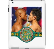 Pacquiao vs Mayweather WBC iPad Case/Skin