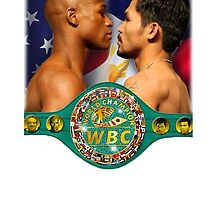 Pacquiao vs Mayweather WBC by ches98