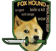 Metal Gear Doge by againnagain