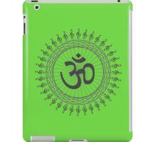Geometric Grey AUm design iPad Case/Skin