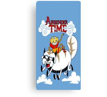 Adventure of time: The Last Air Bender Canvas Print