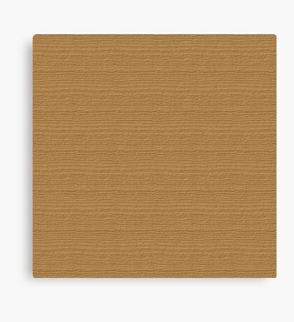Pale Gold Wood Grain Texture Color Accent Canvas Print