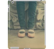 Standing her ground iPad Case/Skin