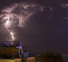 Mooloolaba Storm - 5 by Newsworthy