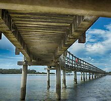 Under the Boardwalk - Urunga by Clare Colins
