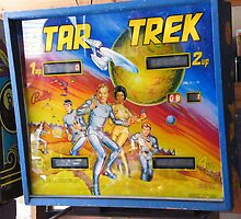 Star Trek Pinball Machine by DonnaMoore