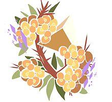 Pretty Poly-Crown of Thorns by Kaitlynn Peavler