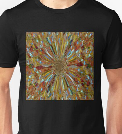 Digital Pattern that looks like Glass  Unisex T-Shirt