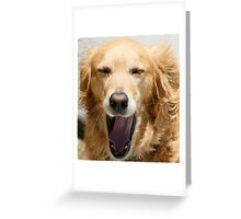 Yawn.... Greeting Card