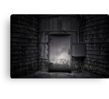 Electrocution Room Canvas Print
