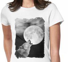 El Lobo Lunar Womens Fitted T-Shirt