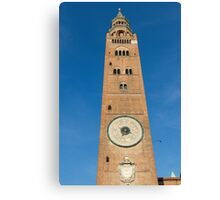 The beautiful cathedral of cremona Canvas Print