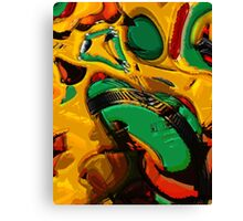 Bang the drum! Canvas Print