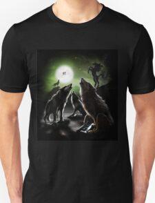 wolf moon unicorn et Unisex T-Shirt