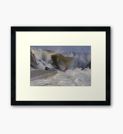 The Wedge- Newport Beach California Framed Print
