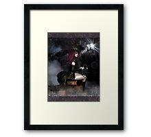 SteamXpress Art Card Framed Print