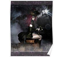 SteamXpress Art Card Poster