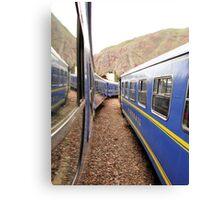 trains #2 Canvas Print