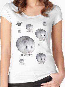 Hamsters Rule Women's Fitted Scoop T-Shirt