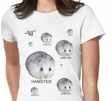 Hamsters Rule Womens Fitted T-Shirt