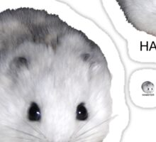 Hamsters Rule Sticker
