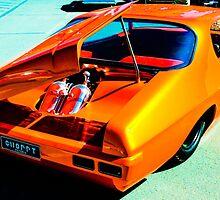 Holden HQ Monaro by Jeanette Varcoe.