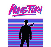 Kung Fury T-shirt Photographic Print