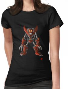 Psycho-Bot Womens Fitted T-Shirt