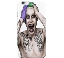"Jared ""The Joker"" Leto iPhone Case/Skin"