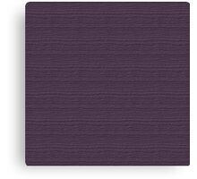 Vintage Violet Wood Grain Texture Color Accent Canvas Print