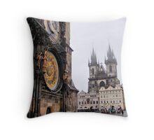 Staroměstské náměstí II Throw Pillow