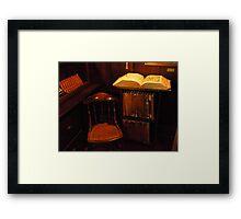 Robinson Jeffers' Dictionary  Framed Print