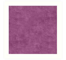 Amethyst Oil Pastel Color Accent Art Print