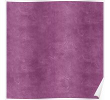 Amethyst Oil Pastel Color Accent Poster