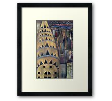 The City  / My  Paintings          Framed Print