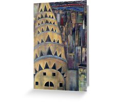 The City  / My  Paintings          Greeting Card