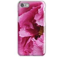 Pink April Tree Peony iPhone Case/Skin