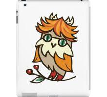 Lovely owlet iPad Case/Skin