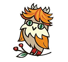 Lovely owlet by ZoyaMiller
